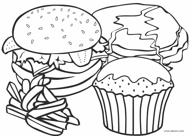 pictures of food coloring free printable food coloring pages for kids cool2bkids pictures coloring food of