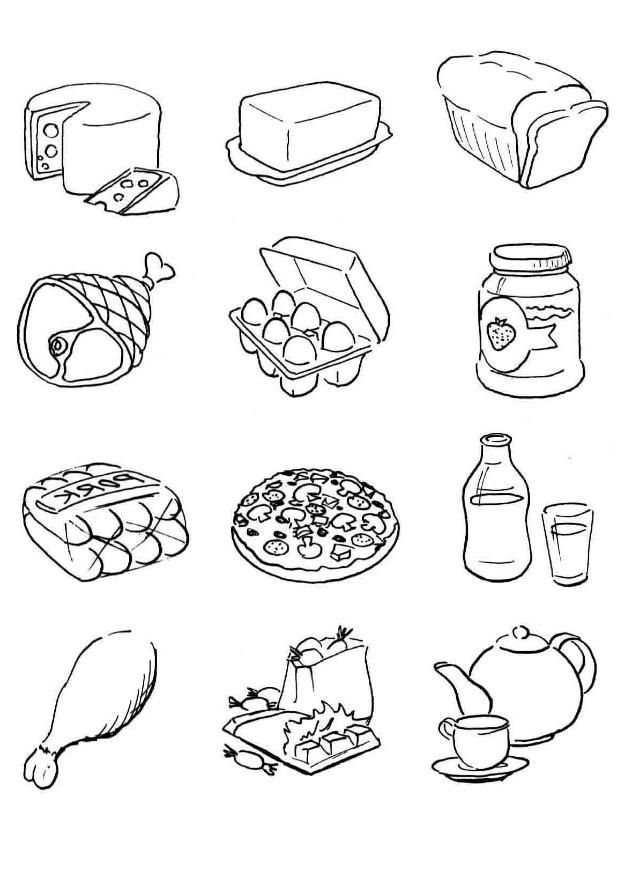 pictures of food coloring healthy food fun you betcha barbara jean hicks coloring food of pictures