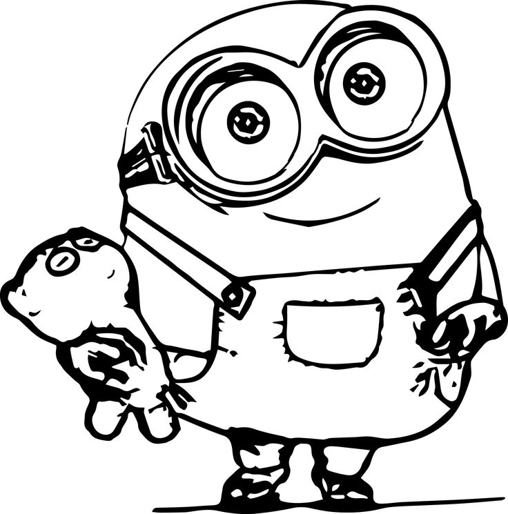 pictures of minions to color minion coloring pages color pictures minions of to