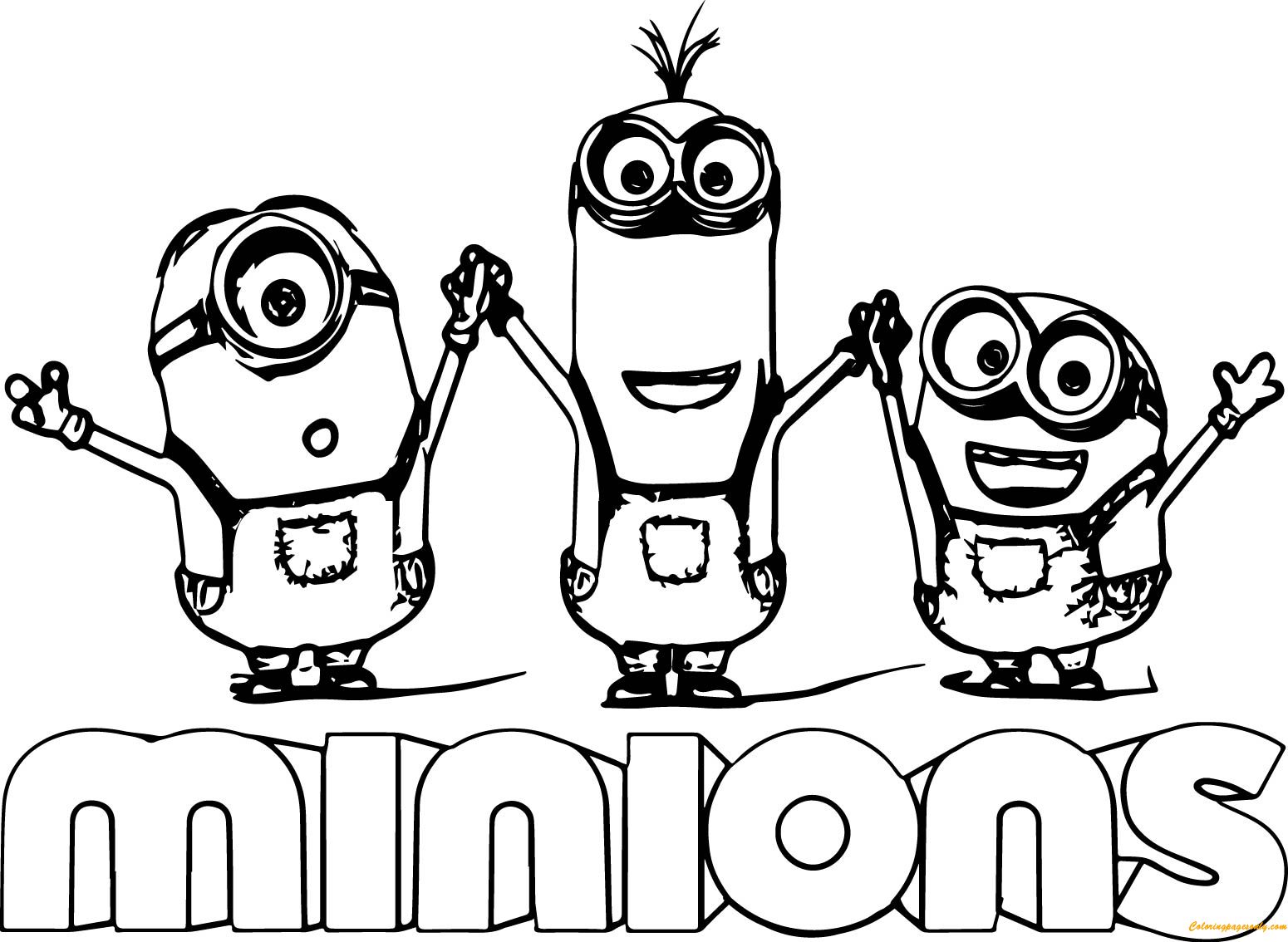 pictures of minions to color pictures of minions to color color pictures of minions to
