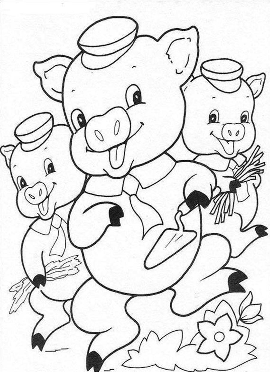 pictures of pigs to color alpha pig coloring pages at getcoloringscom free to pictures color of pigs