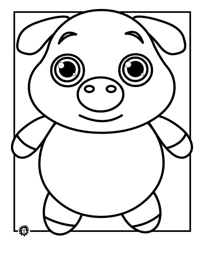 pictures of pigs to color cute pigs coloring pages coloring home pigs of to color pictures