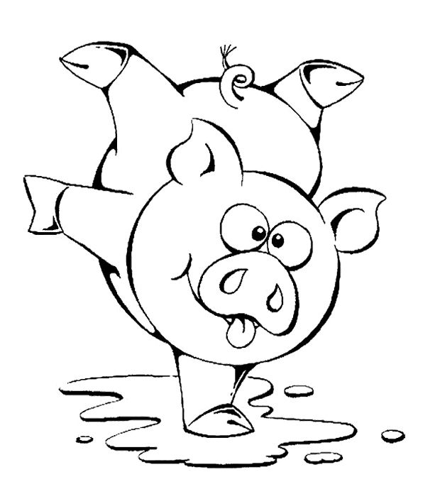 pictures of pigs to color free printable pig coloring pages for kids pigs to pictures of color