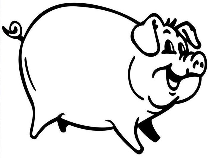 pictures of pigs to color printable pig pictures coloring home color pictures of pigs to