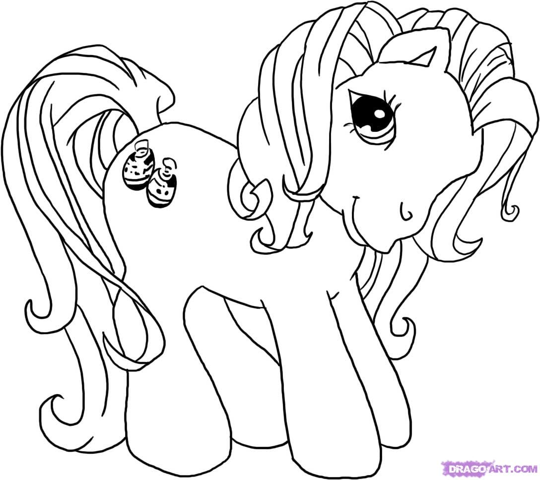pictures of ponies to color free printable my little pony coloring pages for kids pictures color ponies to of