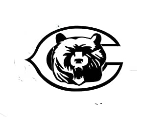 pictures of the chicago bears logo amazoncom black chicago bears logo decal window new logo chicago of the pictures bears