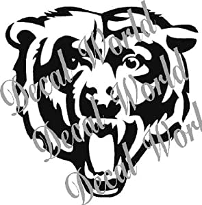 pictures of the chicago bears logo amazoncom chicago bears logo white decal vinyl sticker pictures of logo chicago bears the