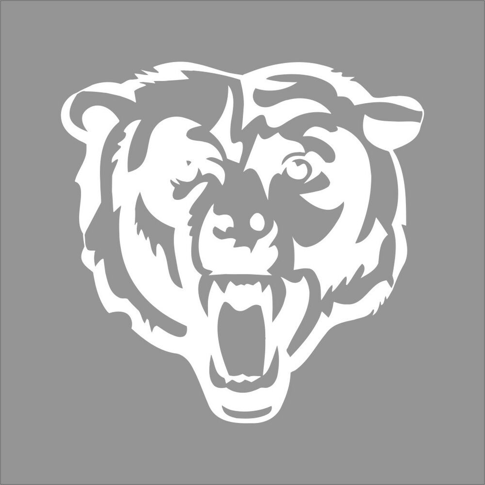 pictures of the chicago bears logo chicago bears 3 nfl team logo 1 color vinyl decal sticker of pictures the bears logo chicago