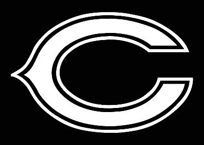 pictures of the chicago bears logo chicago bears logo car decal vinyl sticker white 3 sizes pictures bears logo of the chicago