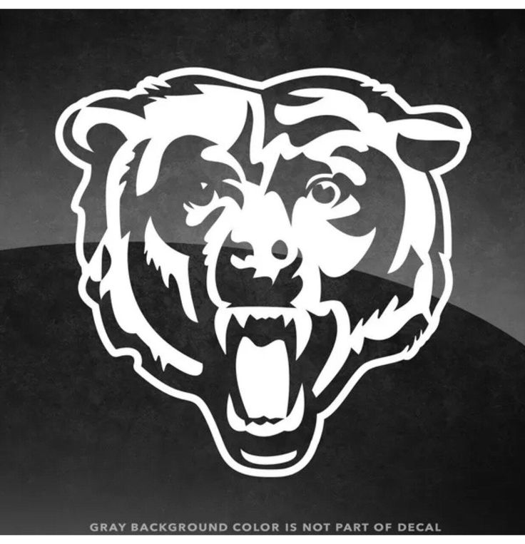 pictures of the chicago bears logo chicago bears logo chicago bears window decal chicago pictures chicago bears of the logo