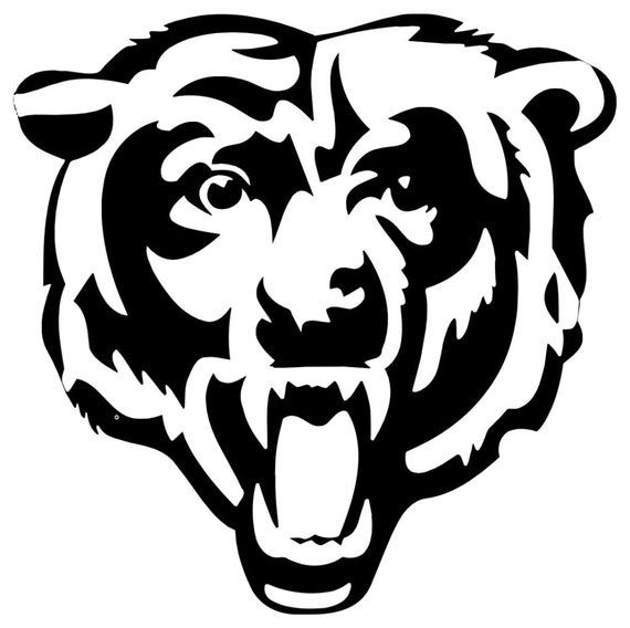 pictures of the chicago bears logo chicago bears logo decal chicago bears bear logo bear logo of pictures chicago the bears