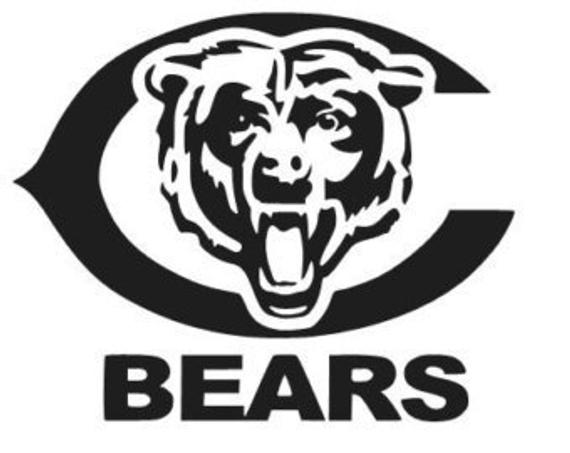 pictures of the chicago bears logo chicago bears logo football nfl sport vinyl sticker decal 049 chicago bears of logo pictures the