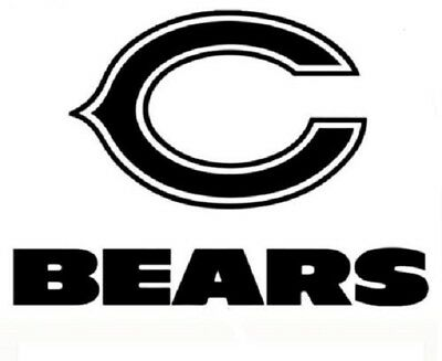 pictures of the chicago bears logo chicago bears vinyl decal sticker car truck window bears pictures of logo the chicago