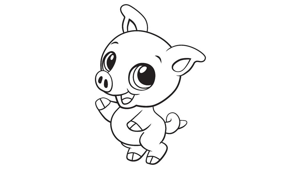 pig pictures to colour baby pig coloring printable colour pig pictures to