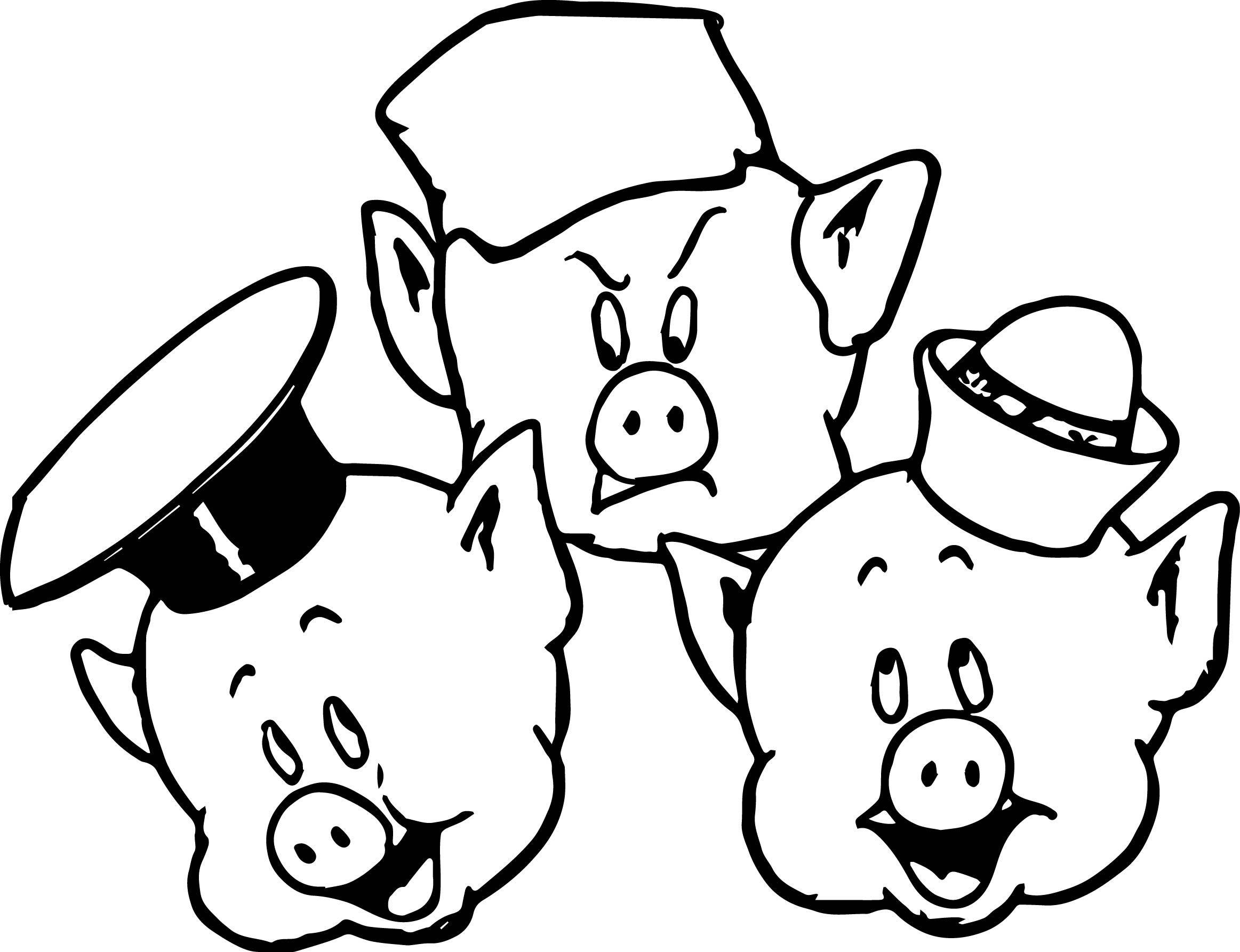pig pictures to colour free printable pig coloring pages for kids colour pictures to pig