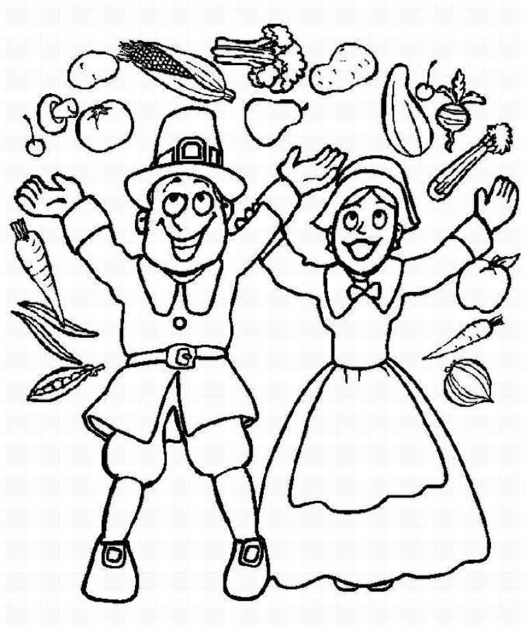 pilgrim boy and girl coloring pages a picture paints a thousand words november 2010 girl boy pilgrim pages and coloring