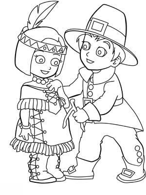 pilgrim boy and girl coloring pages a picture paints a thousand words thanksgiving coloring and pilgrim coloring girl boy pages