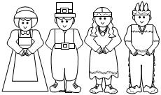 pilgrim boy and girl coloring pages coloring pages for fun printable native american pilgrim pages boy girl and coloring
