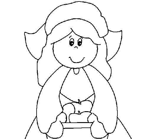 pilgrim boy and girl coloring pages pilgrim girl coloring page coloringcrewcom pilgrim pages boy and girl coloring