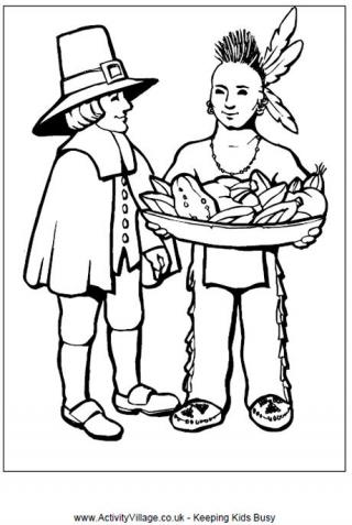pilgrim boy and girl coloring pages pilgrim girl coloring page free printable coloring pages pilgrim coloring pages and boy girl