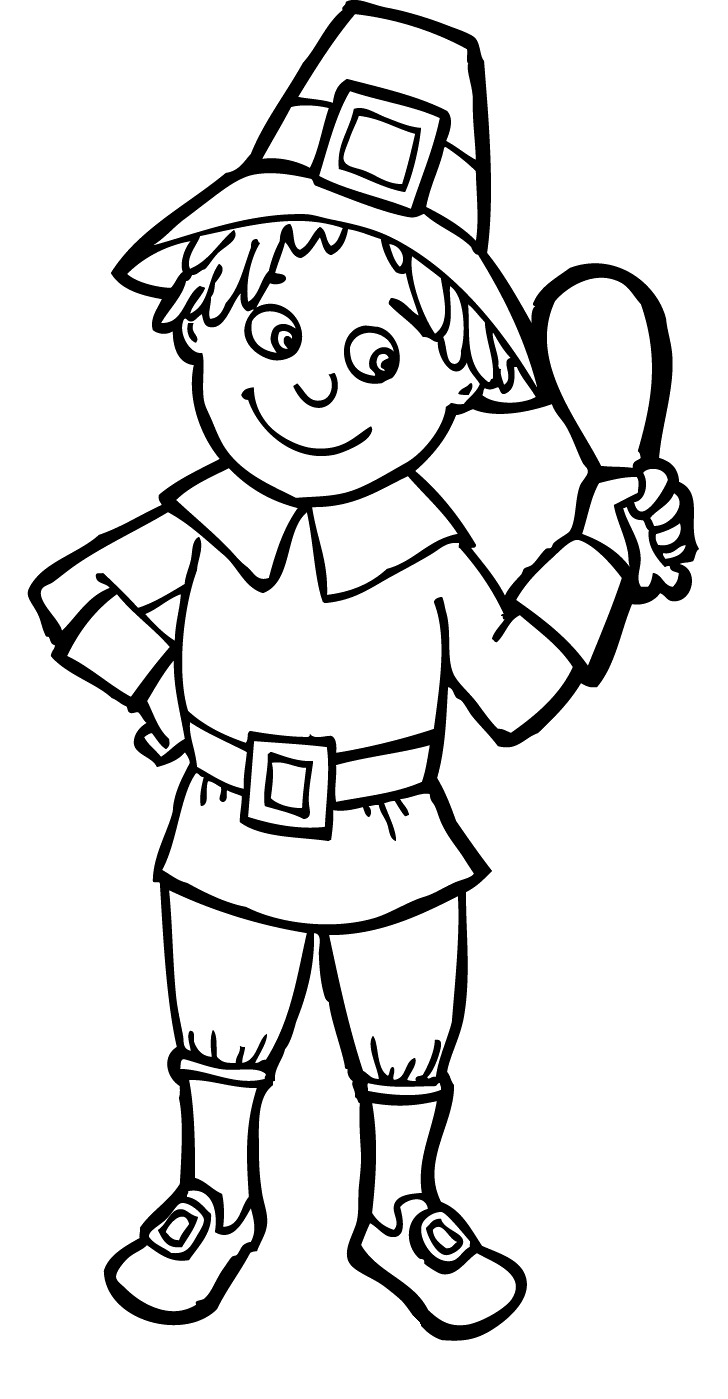 pilgrim boy and girl coloring pages pilgrim girl with hat girl with hat pilgrim coloring pages and pages coloring pilgrim girl boy