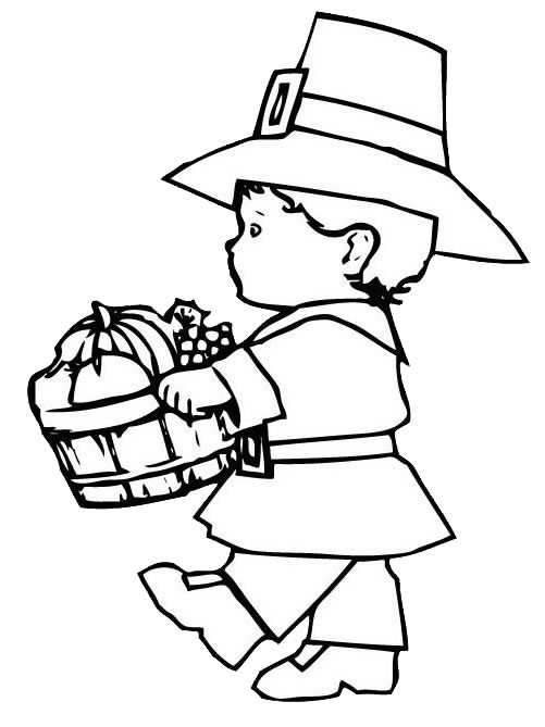 pilgrim boy and girl coloring pages thanksgiving coloring pages jokes and history of thanksgiving boy pages coloring girl and pilgrim