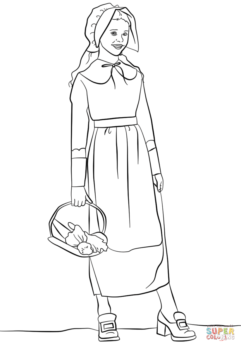pilgrim boy and girl coloring pages thanksgiving coloring pages team colors girl coloring pages and boy pilgrim