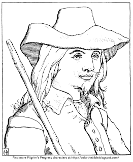 pilgrims progress coloring pages color quotthe fight with apollyonquot from pilgrim39s progress coloring pilgrims pages progress