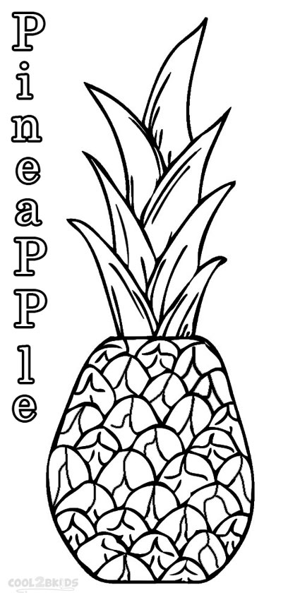 pineapple colouring picture 18 awesome spongebob squarepants coloring pages colouring pineapple picture