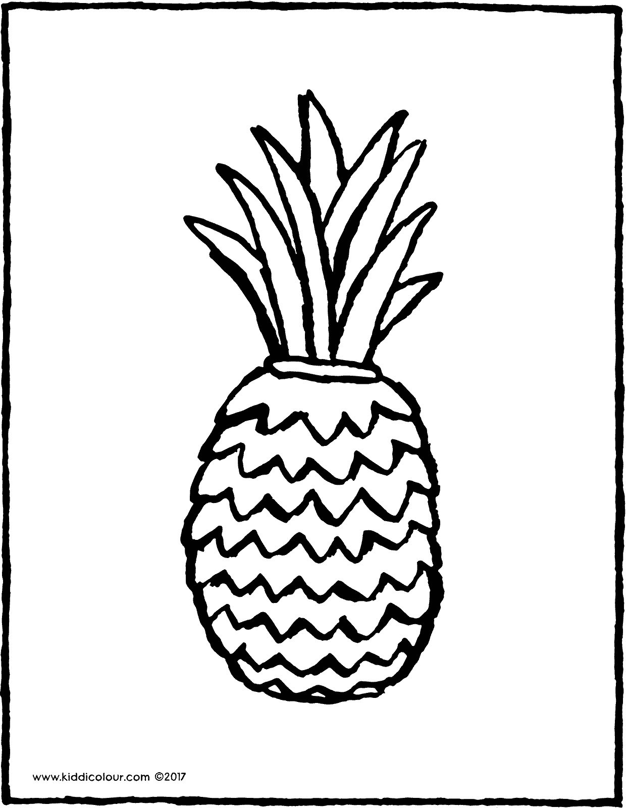 pineapple colouring picture dotted pattern pineapple coloring page dotted pattern picture pineapple colouring