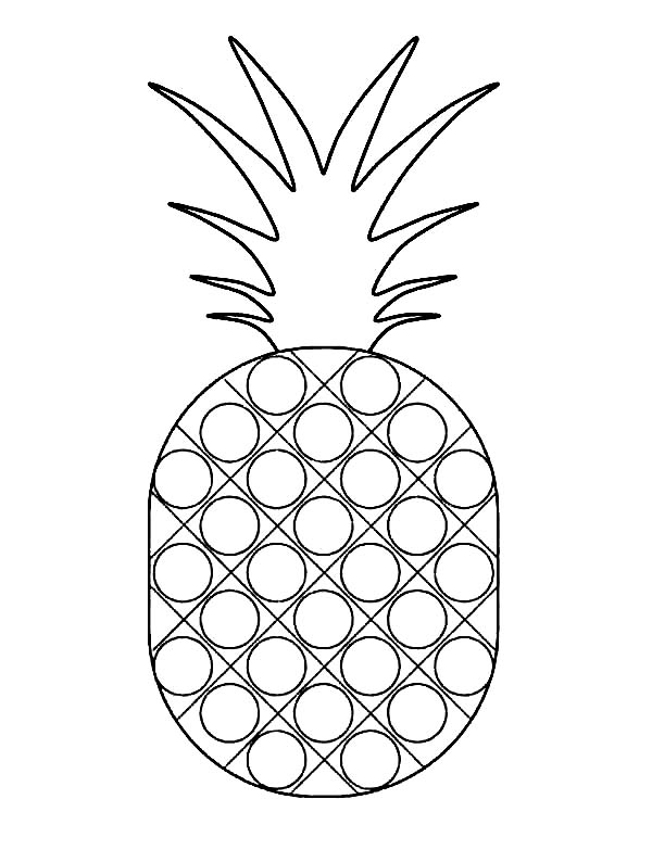 pineapple colouring picture pineapple coloring pages colouring pineapple picture