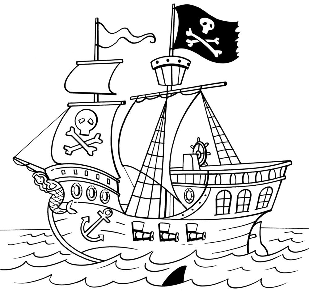 pirate boat drawing pirate ship drawing for kids at getdrawings free download drawing pirate boat