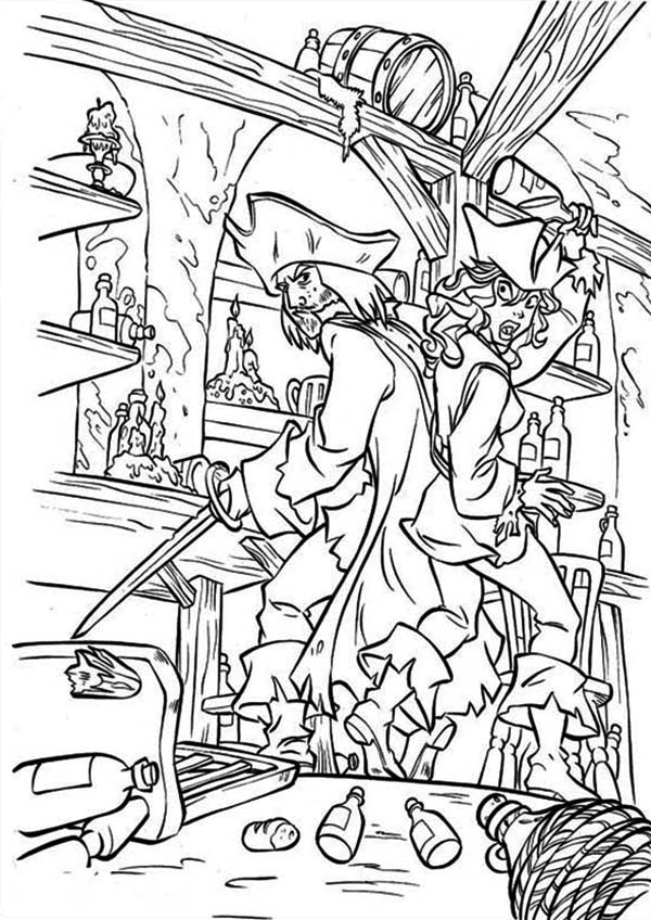 pirate coloring sheets a pirate treasure chest in a shipwreck coloring page coloring pirate sheets