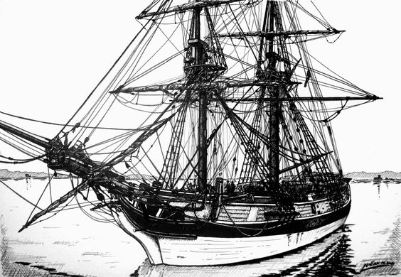 pirate ship drawing ship drawing the old and the o39jays on pinterest pirate drawing ship