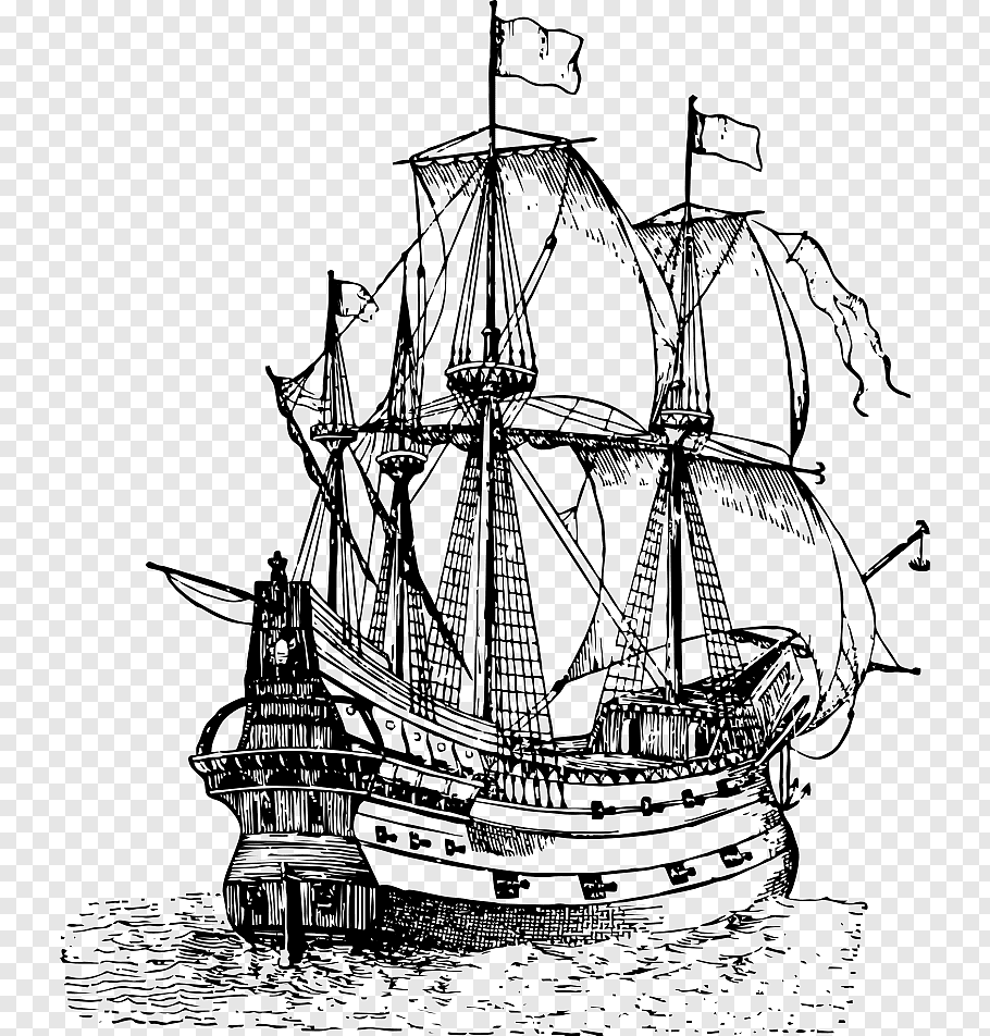pirate ship sketch galleon 15th century ship used by pirates old pirate sketch ship