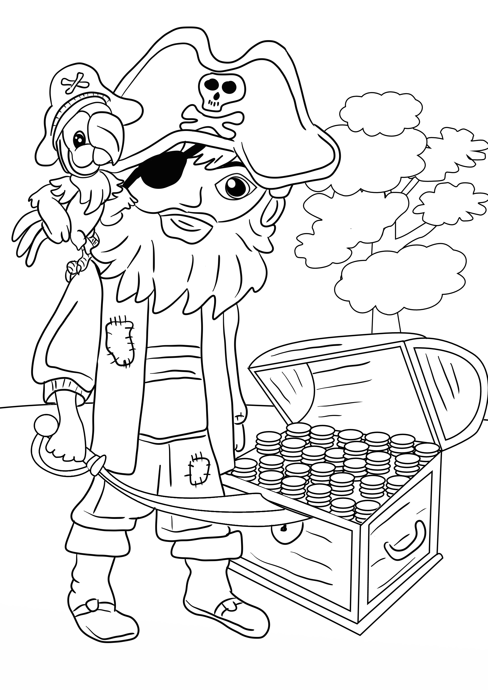 pirates coloring pages blog creation2 10 pirates coloring pages to print and pages coloring pirates