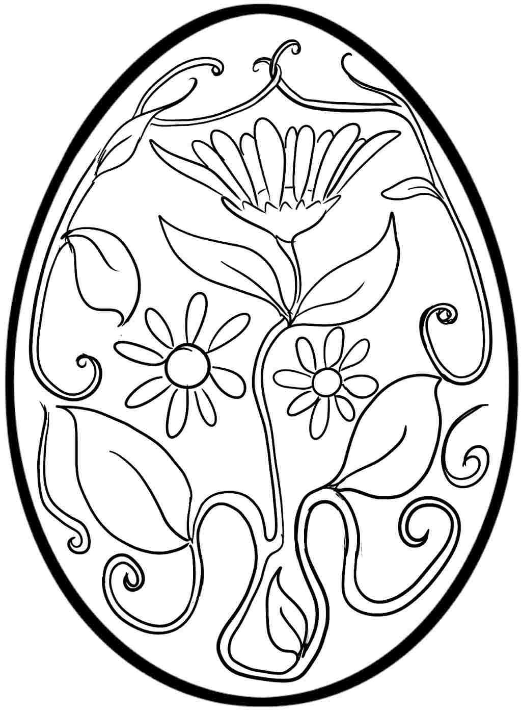 plain easter egg coloring pages free printable easter egg coloring pages with images easter pages coloring egg plain