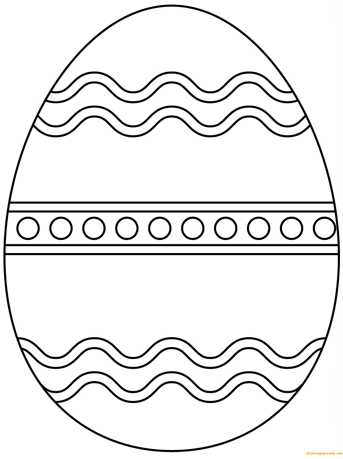 plain easter egg coloring pages plain easter egg coloring page  free coloring pages online egg easter plain pages coloring