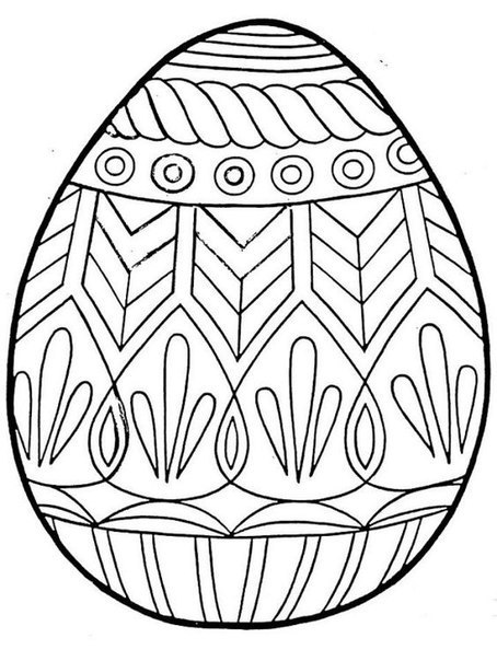 plain easter egg coloring pages plain easter egg coloring pages at getcoloringscom free egg plain pages easter coloring