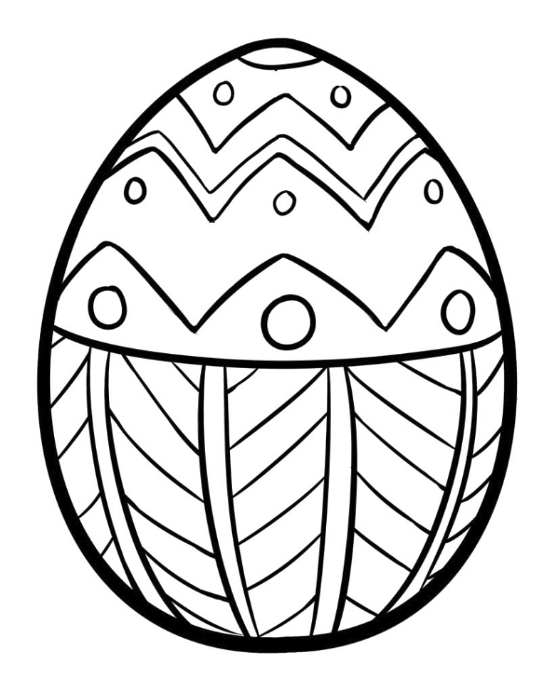 plain easter egg coloring pages simple easter egg coloring page creative ads and more pages easter coloring plain egg