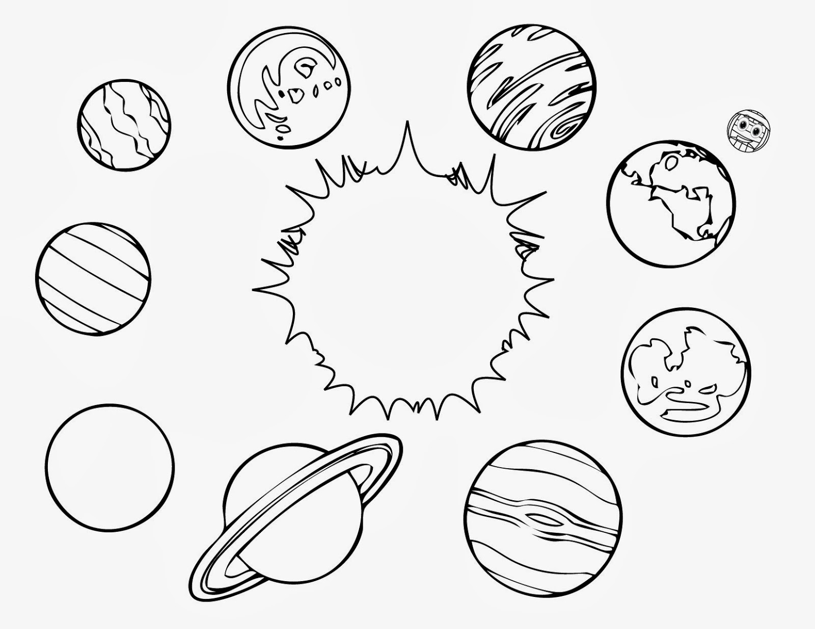 planet coloring page planet coloring pages to download and print for free page coloring planet