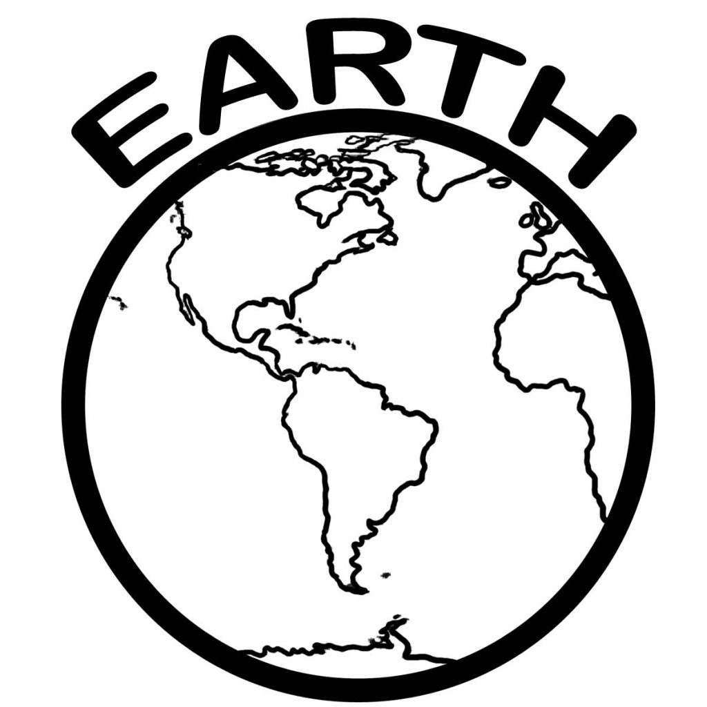 planet pictures to color free printable earth coloring pages for kids planet to color pictures