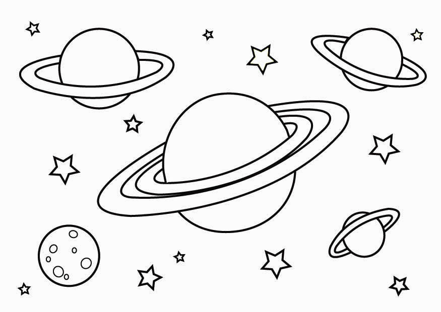 planet pictures to color free printable planet coloring pages for kids planet to color pictures