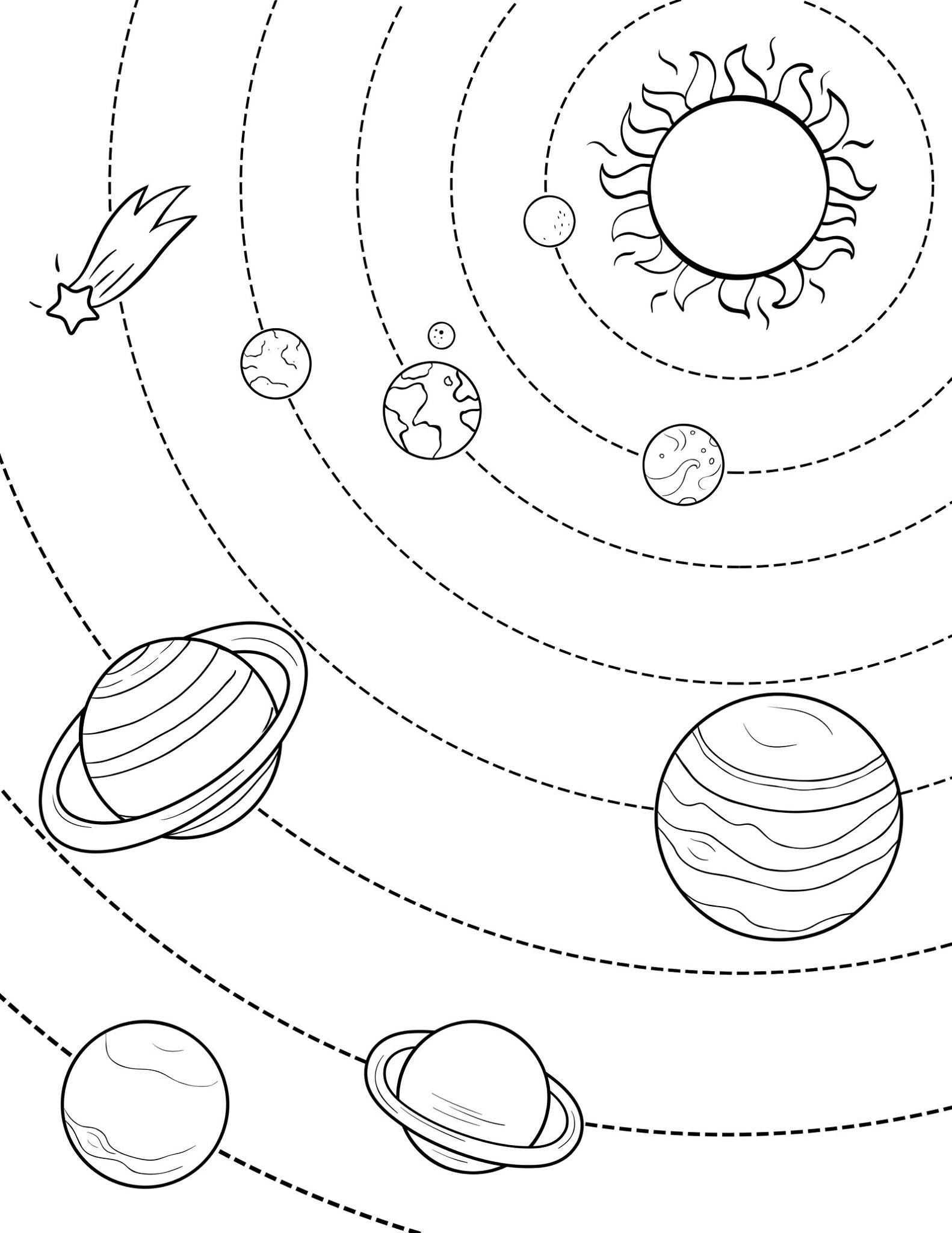 planet pictures to color printable planet coloring pages for kids cool2bkids pictures to planet color