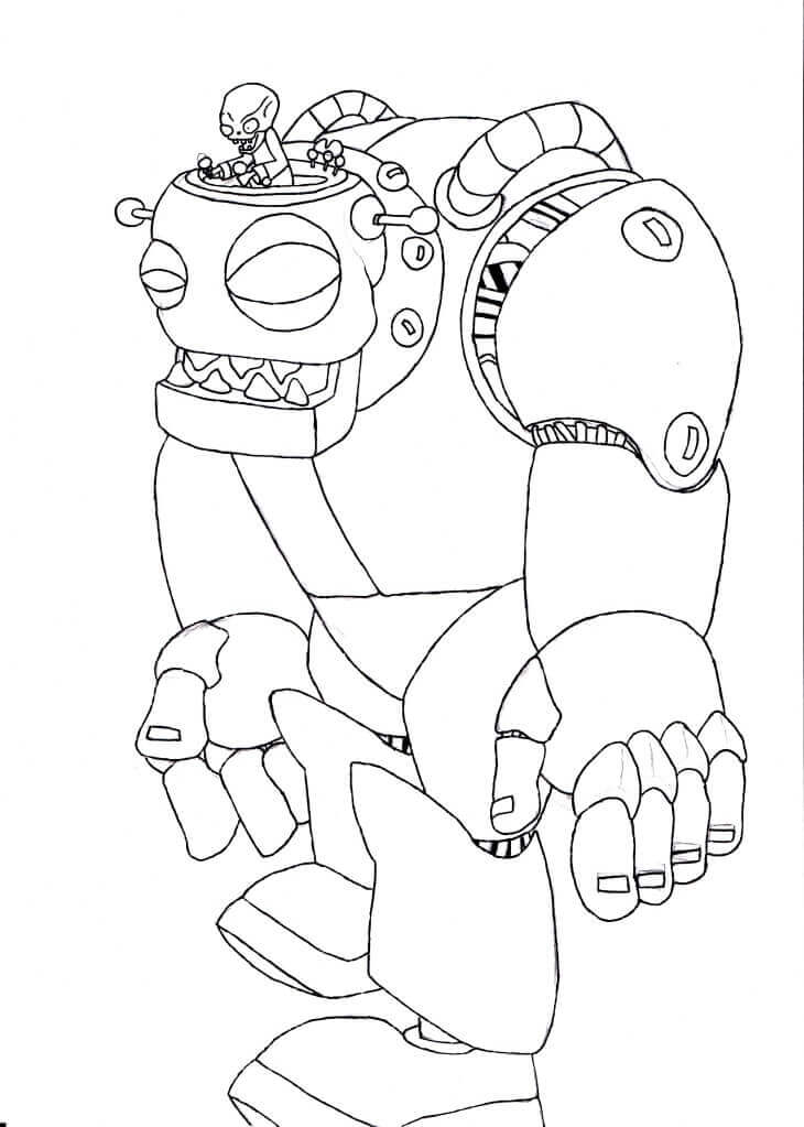 Plant vs zombies 2 coloring pages