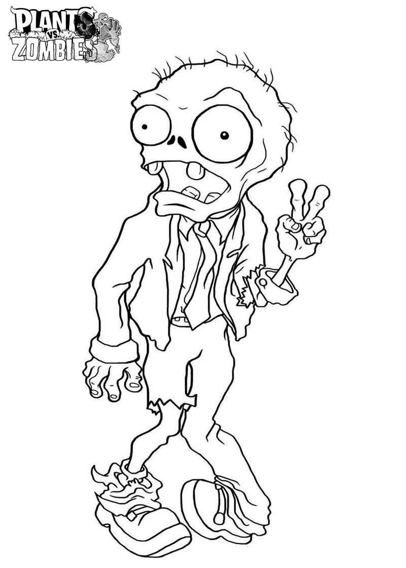 plants vs zombies coloring book plants vs zombies printable coloring pages at getdrawings plants coloring vs zombies book