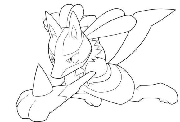 pokemon lucario coloring pages pokemon salamence coloring pages vingel lucario pokemon coloring pages