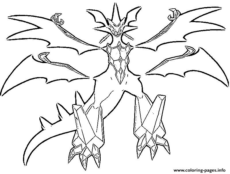pokemon ultra necrozma coloring pages coloring page pokemon ultra sun and ultra moon necrozma pokemon coloring pages ultra necrozma