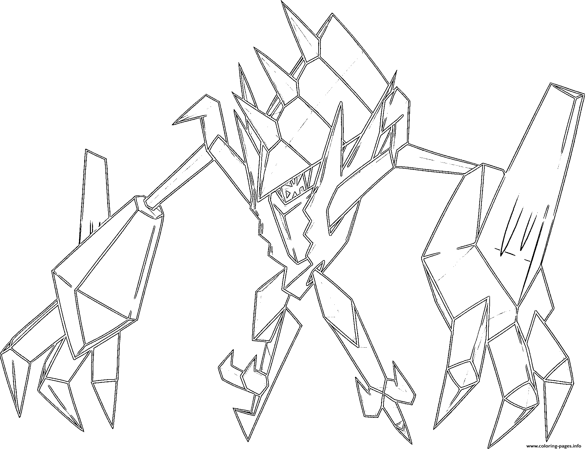 pokemon ultra necrozma coloring pages hd exclusive pokemon ultra necrozma coloring pages cool coloring ultra pokemon pages necrozma