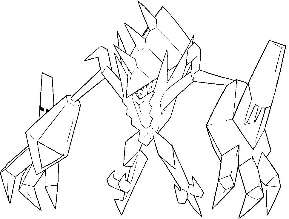 pokemon ultra necrozma coloring pages ultra necrozma coloring page free printable coloring ultra pokemon pages coloring necrozma